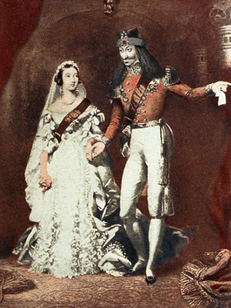 THe Wedding of Her Majesty Queen Victoria to Prince Dracula