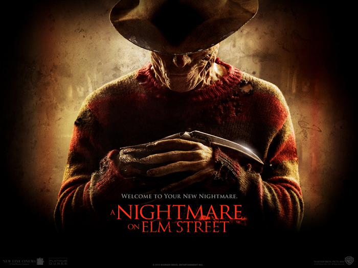 A Nightmare on Elm Street remake poster