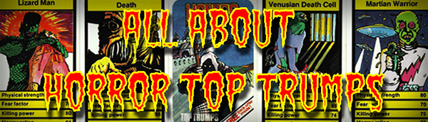 All About Horror Top Trumps