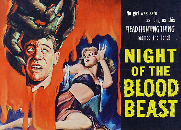 Night of the Blood Beast poster