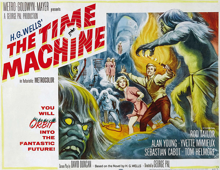 The Time Machine 1960 poster