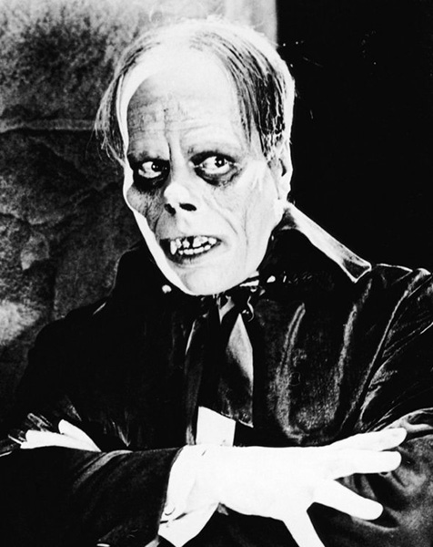Lon Chaney Snr. as The Phantom of the Opera